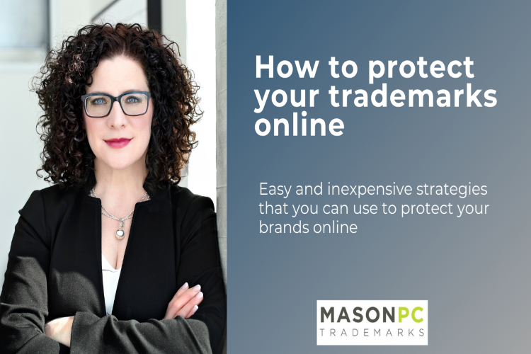 How to protect your trademark online